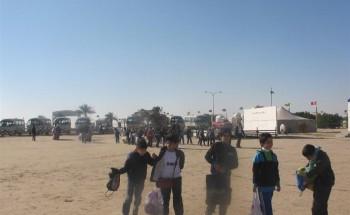 رحلة ترفيهية  لطلاب مدرسة الشرق الابتدائية الأهلية إلى مخيم الربيع بالخفجي