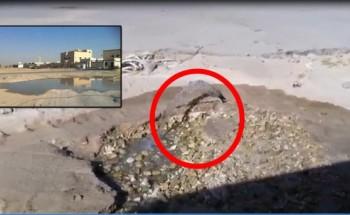 بايب مقطوع يهدر مياه التحلية بالخفجي في ظل الحاجة الماسة