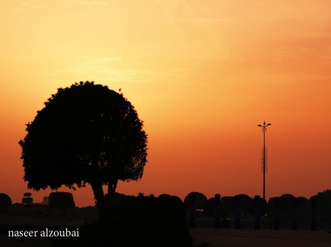 عدسة أبعاد الخفجي – سلويت غروب , تصوير – ناصر الزعبي