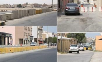منافذ الأحياء والدوران المغلقة والمطبات العشوائية تخنق شوارع الخفجي