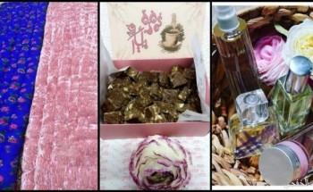 نساء خفجاويات يتفنن في صنع العطر والحلى والجودليات
