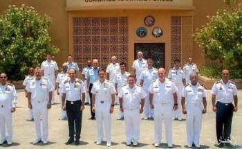 قائد القوات البحرية الملكية السعودية يحضر اختتام مؤتمر الأمن البحري للقوات البحرية المختلطة بالبحرين