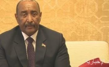 البرهان يؤكد استعداد السودان ورغبته فى تطوير العلاقات مع أمريكا