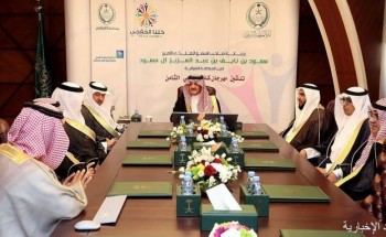 سمو الأمير سعود بن نايف يدشن مهرجان كلنا الخفجي الثامن