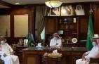 الهزاع يناقش الفرص الإستثمارية مع مجلس اعمال الخفجي