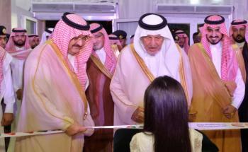 خالد الفيصل يرعى افتتاح فعاليات معرض جدة الدولي الخامس للكتاب