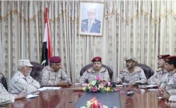 وزير الدفاع اليمني: ماضون نحو استعادة الدولة ومواجهة المشروعات التخريبية