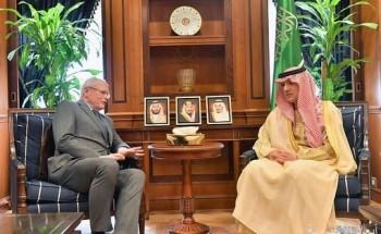 وزير الدولة للشؤون الخارجية يستقبل المبعوث الأمريكي الخاص في سوريا
