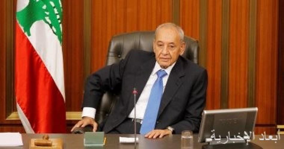 """رئيس """"النواب اللبناني"""" يدعو لإعادة إنتاج الحياة السياسية وينتقد دعوات الفيدرالية"""