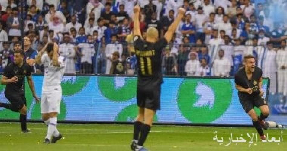 مواجهة نارية بين الهلال والنصر فى ديربى الرياض بالدوري السعودي