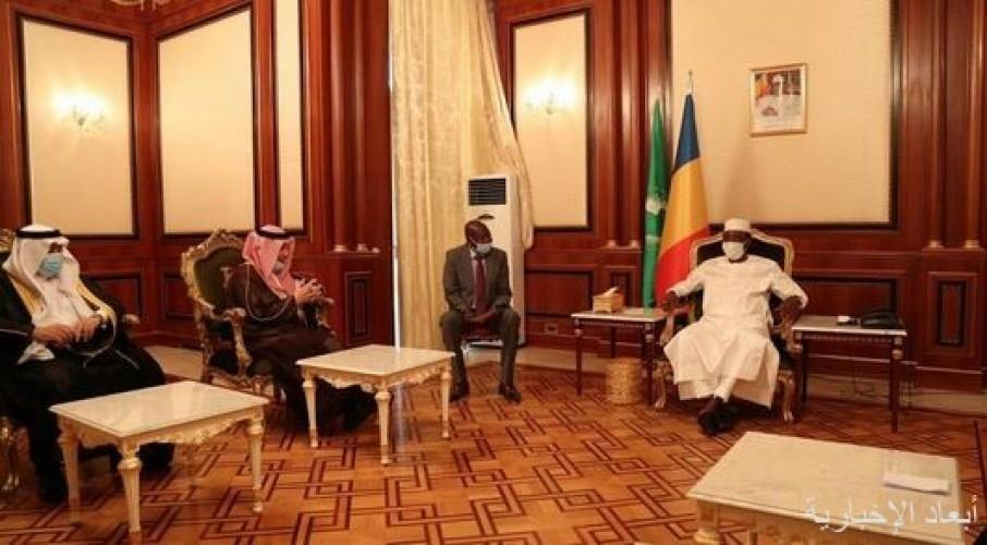 وزير الدولة لشؤون الدول الأفريقية ينقل تحيات القيادة للرئيس التشادي