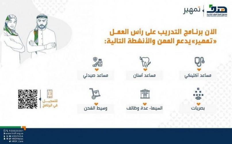 """""""هدف"""" يدعم 6 مهن في برنامج """"تمهير"""" ضمن مبادرة توطين المهن"""