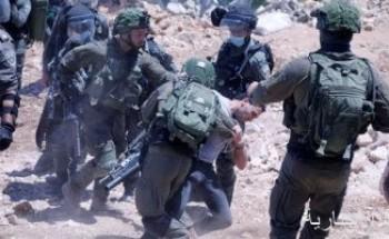 قوات الاحتلال الإسرائيلى تعتدى على مسيرة بالأغوار الشمالية