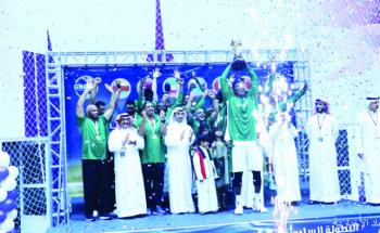«أخضر السلة» يتوج بالبطولة الخليجية للمرة الرابعة