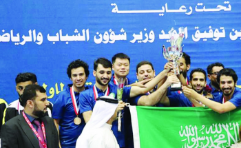 الأهلي بطلاً لغرب آسيا لكرة الطاولة