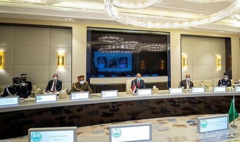 سمو الأمير عبدالعزيز بن سعود يعقد جلسة مباحثات رسمية مع وزير الداخلية العراقي