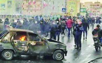 143 قتيلاً بأسلحة نارية في احتجاجات إيران