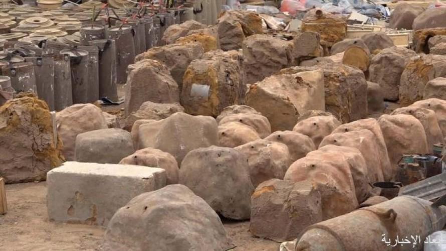 """مشروع """"مسام"""" ينتزع 1,187 لغمًا في اليمن خلال الأسبوع الثاني من شهر يناير"""
