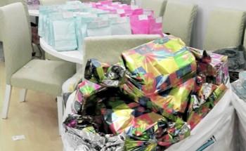 1600 هدية للأطفال في حملة «لنشاركهم فرحة العيد»