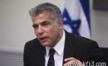 المذيع السابق يئير لابيد يتولى وزارة المالية في حكومة نتنياهو