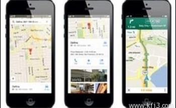 تطور برنامج لخرائط جوجل على الآي فون