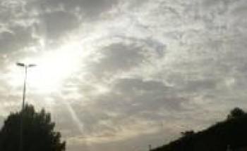 """""""الأرصاد"""": سماءٌ غائمة ورؤية غير جيدة على غرب المملكة ووسطها"""