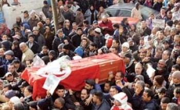 """""""تشييع بلعيد"""".. يشعل الغضب """"التونسي"""""""