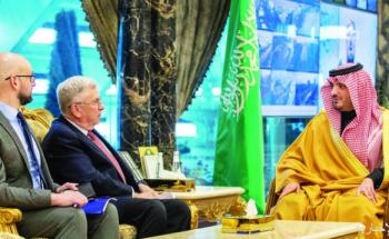 وزير الداخلية يبحث مع السفير الأميـركي الموضوعات المشتركة