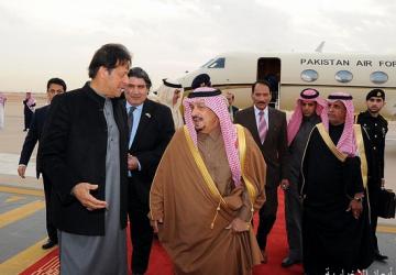 رئيس وزراء جمهورية باكستان يصل الرياض