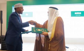 وزير الحج والعمرة يستقبل وزير الأوقاف والشؤون الدينية بجمهورية الصومال