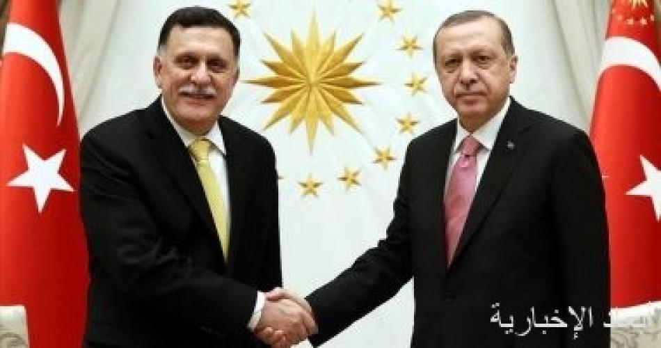 مجموعة أبناء ليبيا تستنكر اتفاق السراج وأردوغان وتدعو لسحب الاعتراف من الوفاق