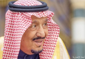 الملك يستعرض ووزير الخارجية الأميركي العلاقات المميزة بين البلدين
