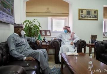 مساعد وزير الدولة لشؤون الدول الإفريقية يستقبل سفير النيجر لدى المملكة
