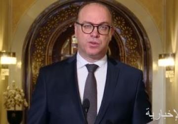 رئيس الحكومة التونسية المستقيل يقيل وزراء حركة النهضة ويكلف وزراء جدد