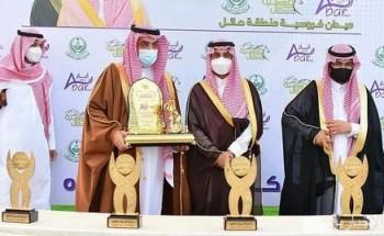 سمو نائب أمير منطقة حائل يرعى حفل السباق الـ21 في ميدان الفروسية