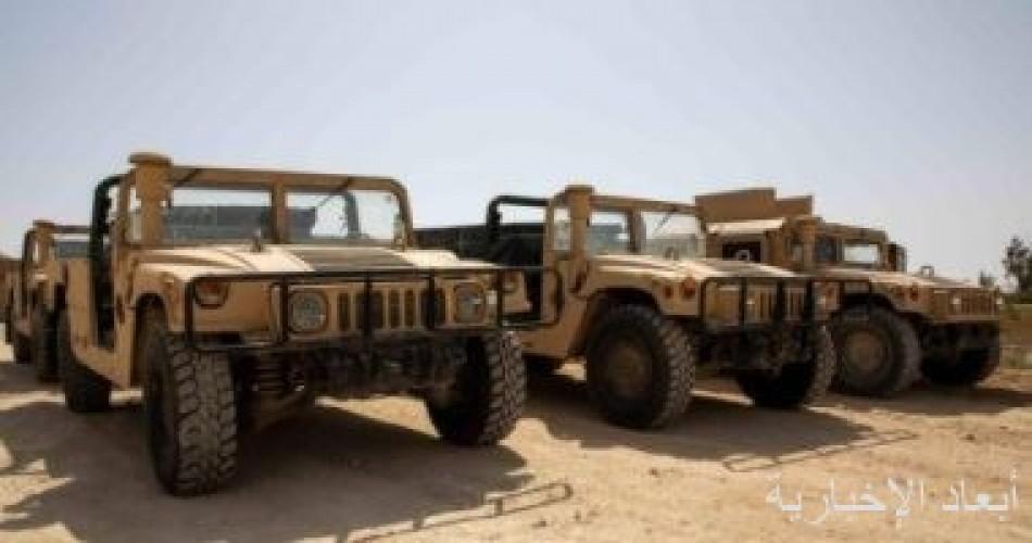 القوات العراقية تتسلم معدات من التحالف الدولى بـ 18 مليون دولار
