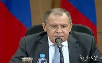 لافروف: تطرقنا فى القاهرة إلى أوضاع ليبيا وسوريا وفلسطين