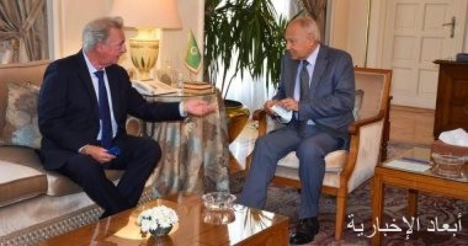 أبو الغيط يؤكد ضرورة تفعيل الدور الأوروبى فى عملية السلام