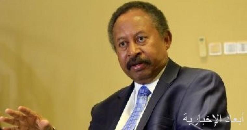 رئيس وزراء السودان: ملف سد النهضة فى مقدمة أولويات الحكومة