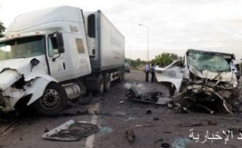 مصرع 37 شخصا فى اصطدام شاحنة ركاب بشاحنة جنوبى مالى