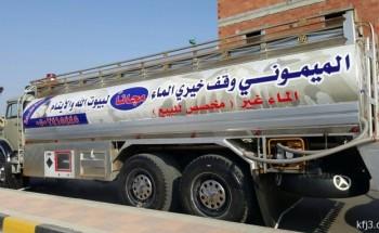 مواطن يخصص وايت مياه للأيتام وسيارة لنظافة المساجد في الخفجي