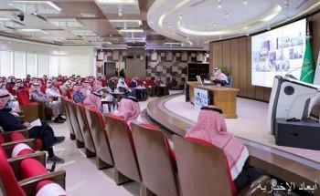 عقد الاجتماع الشهري الأول للعام المالي 1442 / 1443 لقطاعات وفروع الديوان العام للمحاسبة