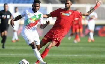 ضمك والاتفاق يتعادلان إيجابياً في لقائهما ضمن الجولة الـ 23 من دوري كأس الأمير محمد بن سلمان للمحترفين