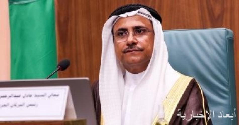 رئيس البرلمان العربى يثمن القرار الأمريكى باستئناف تمويل الأونروا