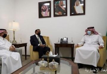 نائب وزير الخارجية يستقبل مدير مركز الأمم المتحدة لمكافحة الإرهاب