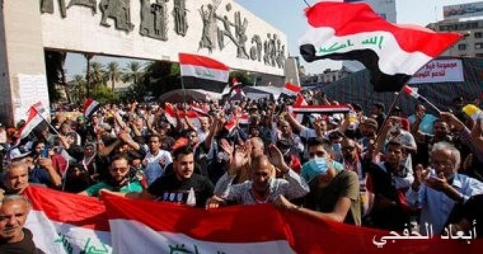 عمليات بغداد : سنحاسب أى شخص يطلق الرصاص الحى على المتظاهرين