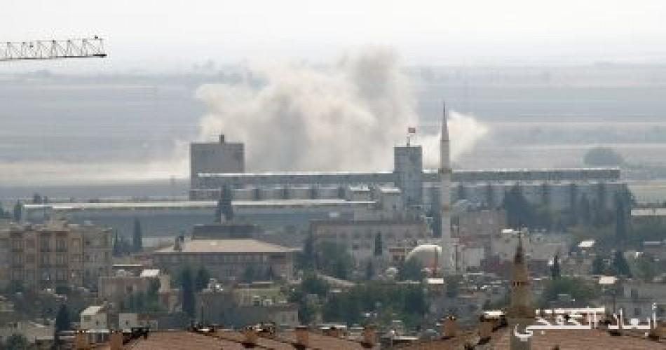 """طائرة استطلاع تركية تقصف قرية """"الدردارة"""" بريف رأس العين شمال شرقى سوريا"""