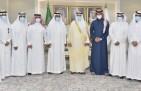 سمو الأمير جلوي بن عبدالعزيز يلتقي رئيس وأعضاء مجلس إدارة نادي نجران
