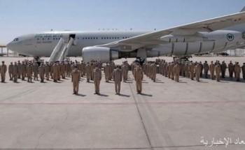 """القوات الجوية السعودية تختتم مشاركتها في مناورات تمرين """"علم الصحراء 2021"""" بدولة الإمارات"""