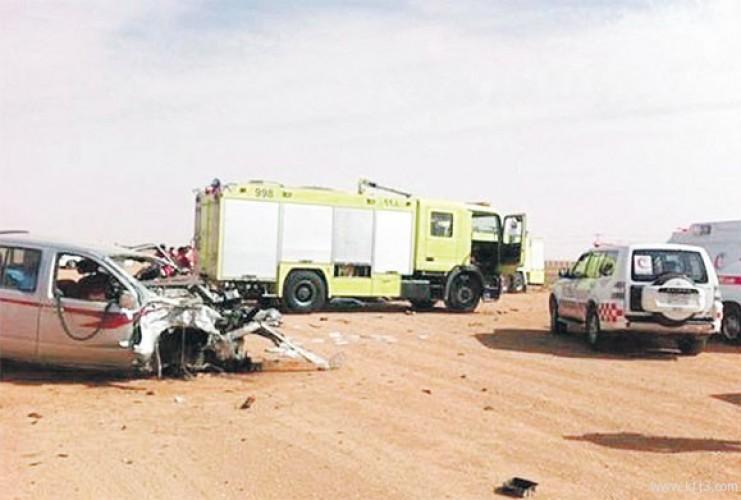 مصرع أسرة قادمة للشرقية ومؤذن في حادث